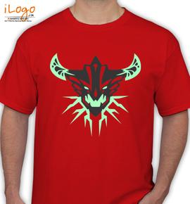 simplistic simple background dota  outworld devourer - T-Shirt