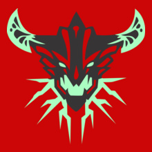 simplistic-simple-background-dota--outworld-devourer T-Shirt