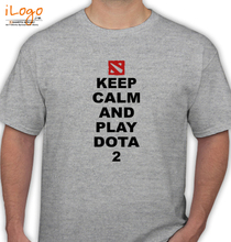 Dota 2 keep-calm-and-PLAY-dota- T-Shirt