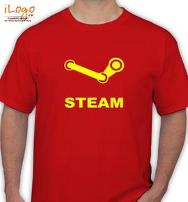 Steam Logo - T-Shirt