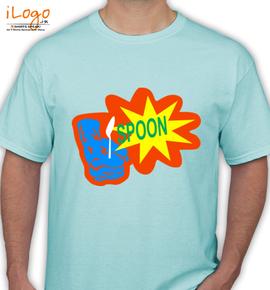 spoon  - T-Shirt