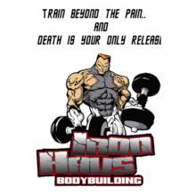 bodybuilding- T-Shirt