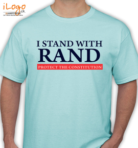 i-stand-with-rand - T-Shirt