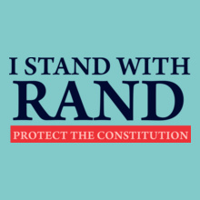 Ran D i-stand-with-rand T-Shirt