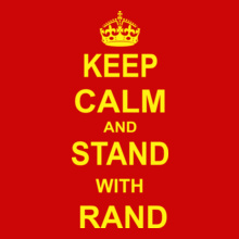 Ran D KEEP-CALM-RAND T-Shirt