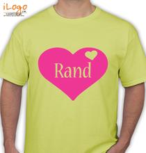 Ran D RAND-YELLOW T-Shirt