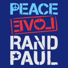 Ran D PEACE-LOVE-RAND-PAUL T-Shirt