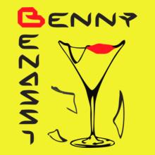 BENNY-BENASSI-YELLOW T-Shirt