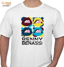 Benny Benassi BENNY-BENASSI-WHITE T-Shirt