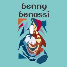 Benny Benassi BENNY-BENASSI-AQUA-BLUE T-Shirt