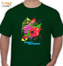 Benny Benassi BENNY-BENASSI-GREEN T-Shirt