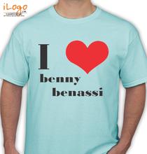 Benny Benassi I-LOVE-BENNY-BENASSI T-Shirt