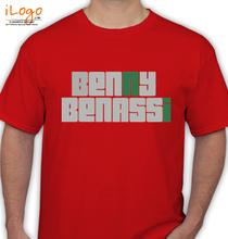 Benny Benassi BENNY-BENASSI-RED T-Shirt