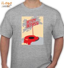 Benny Benassi BENNY-BENASSI-GREY T-Shirt