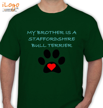 Stafford Brothers Stafford-Brothers-BULL-TERRIER T-Shirt