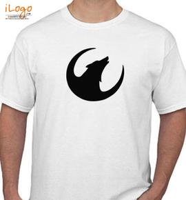 Wolf f icon - T-Shirt