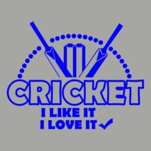 Cricket  I-Love-It-Cricket T-Shirt