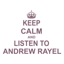 Andrew Rayel KEEP-CALM-AND-LISTEN-TO-ANDREW-RAYEL T-Shirt