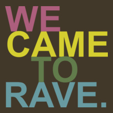 Andrew Rayel WE-CAME-TO-RAVE. T-Shirt