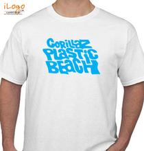 Gorillaz Plastic T-Shirt