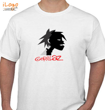 Gorillaz STICKERS- T-Shirt