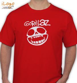 Gorillaz hade - T-Shirt