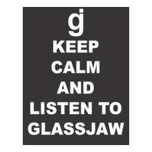 Glassjaw-KEEP-CALM-AND-LISTEN-TO-GLASSJAW T-Shirt