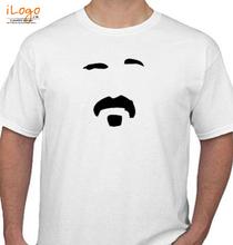 Frank Zappa -man-shirt T-Shirt
