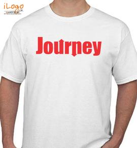 journey logo black - T-Shirt
