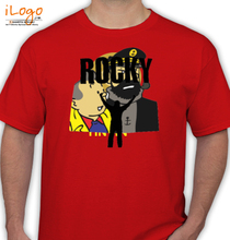 Action Rocky-Silhouette T-Shirt