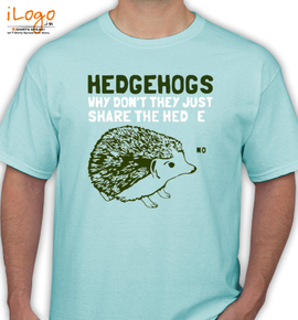 Hedgehogs cant shear - T-Shirt
