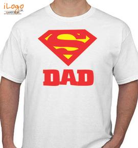 superman super dad t shirt hr - T-Shirt