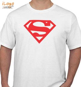superman logo womens t shirt  middle - T-Shirt