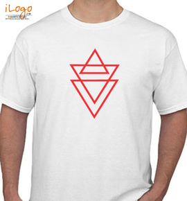 TRIANGLE PRINT - T-Shirt