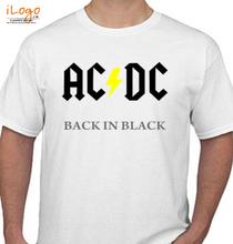 AC DC AC-DC-Music- T-Shirt