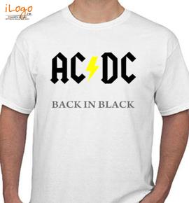 AC DC Music  - T-Shirt