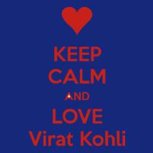 keep-calm-and-love-virat-kohli T-Shirt