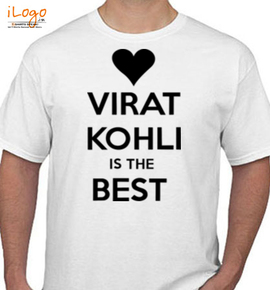 virat kohli is the best - T-Shirt