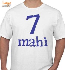 mahendra-singh-dhoni - T-Shirt