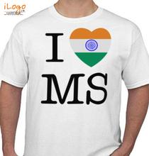 MS Dhoni i-love-ms T-Shirt