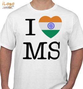i-love-ms - T-Shirt