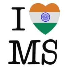 MS Dhoni i-love-ms T-Shirt