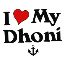 MS Dhoni I-love-my-Dhoni T-Shirt