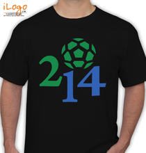 brasil--world-cup-soccer-football-yellow-graphic-t-shirt T-Shirt