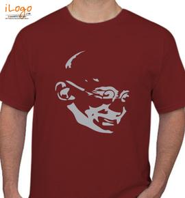 mahatma gandhi  - T-Shirt