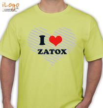 Zatox i-love-zatox T-Shirt