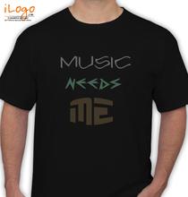 MAD Over MUSIC MUSICNEEDSME T-Shirt