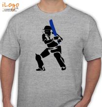 MS Dhoni Dhoni-Action T-Shirt
