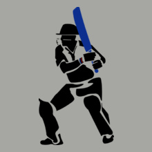 MS Dhoni Dhoni-Action T-Shirt