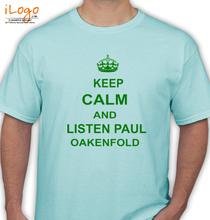 Paul Oakenfold PAUL-OAKENFOLD-KEEP-CALM T-Shirt